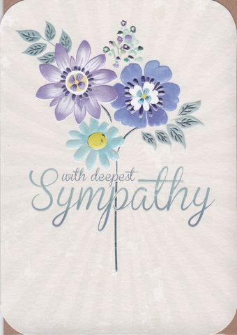 With,Deepest,Sympathy,Card,buy with sympathy card online, buy deepest condolences card online, bereavement card, card for sympathy, deepest sympathy card, thinking of you card, condolences card, buy with deepest sympathy card online,