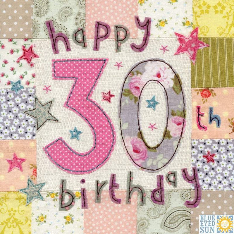 Happy 30th birthday card large luxury birthday card karenza paperie happy 30th birthday card large luxury birthday card product images bookmarktalkfo Choice Image