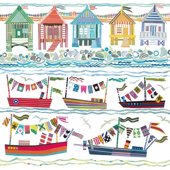 buy beach hut and boat cards online at karenza paperie