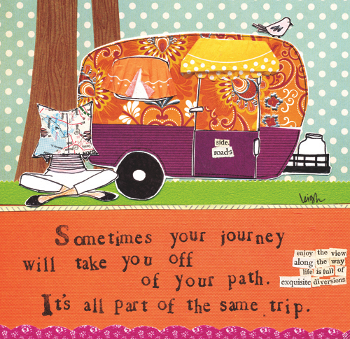 buy curly girl off your path caravan card online