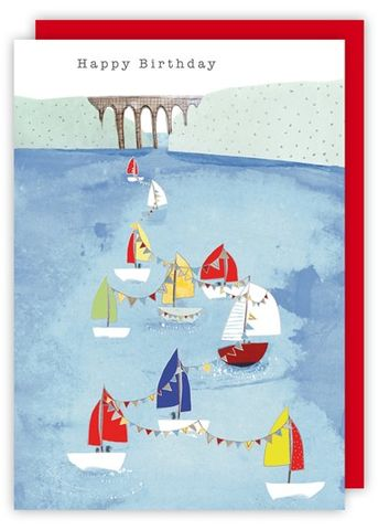 Sailing,Boats,Birthday,Card,buy boats birthday cards online, buy sailing boats birthday card online, buy sailing birthday cards for him, buy birthday cards with boats online, mens birthday card with boat, sailing card for men, male birthday cards, boat birthday cards for him, viaduc