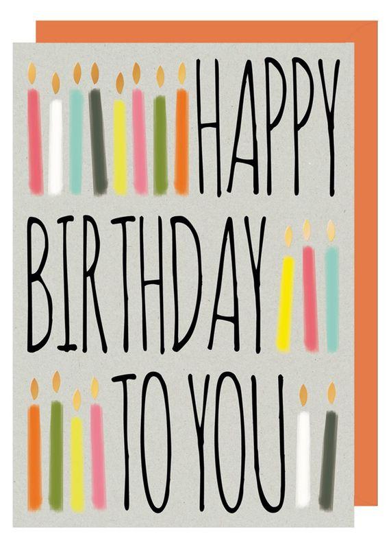 Birthday candles happy birthday to you birthday card karenza paperie birthday candles happy birthday to you birthday card product images m4hsunfo
