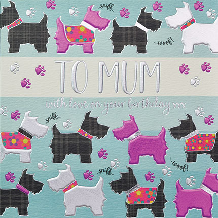 buy mum birthday cards online for her with dogs