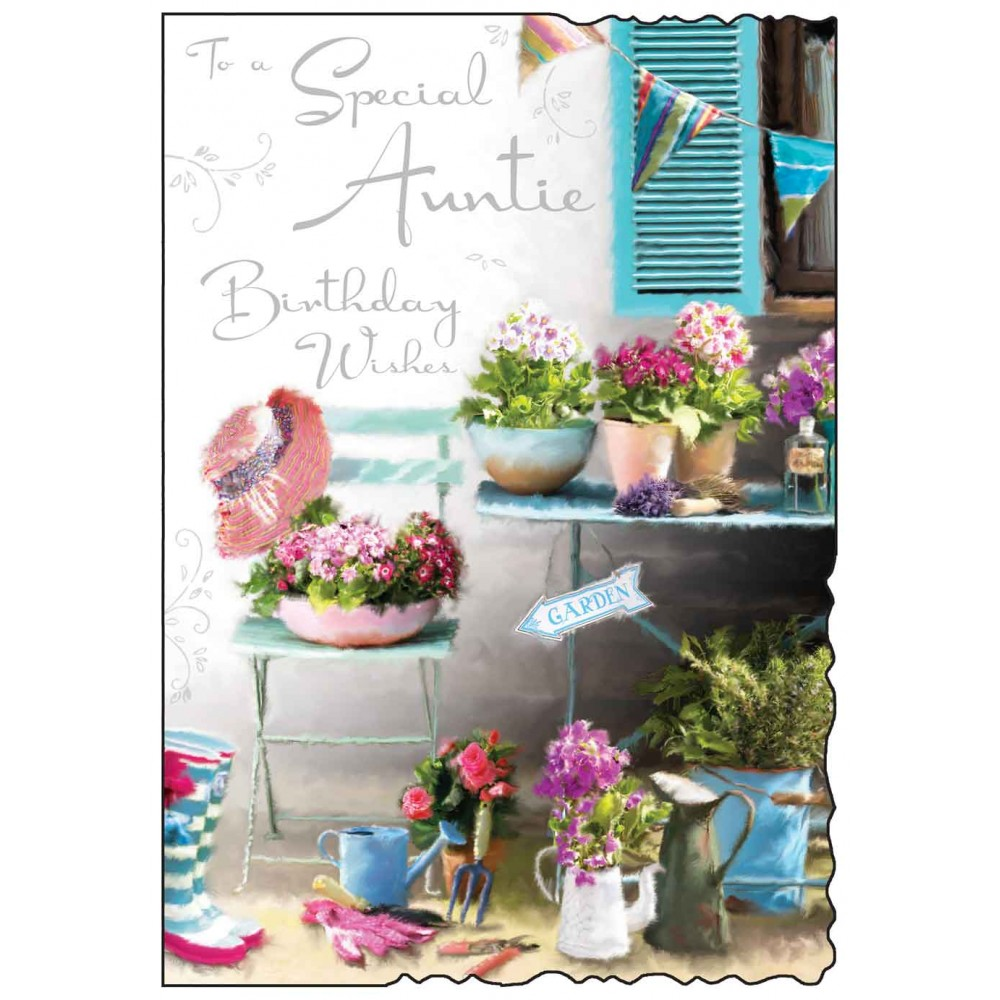 buy auntie birthday card online with flowers from karenza paperie summer birthday card for aunties