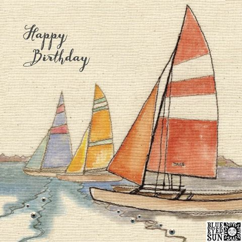 Boats,Birthday,Card,buy male birthday card online, buy birthday cards for him online, buy sailing birthday cards for him, buy birthday cards with boats online