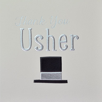 Usher,Thank,You,Card,buy usher card online, buy thank you cards for ushers online, usher thank you cards, cards for usher, buy cards for usher online, wedding party cards, cards for wedidng party, bridal party cards, best man card, cards for best men, best man t