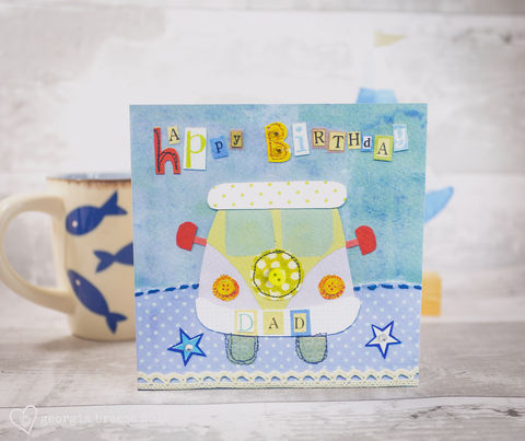 Dad,Camper,Van,Birthday,Card,buy dad birthday cards online, buy card for dad online, buy campervan birthday cards online, buy vdub birthday cards online, buy vdub cards for dad, buy camper van cards for dads,