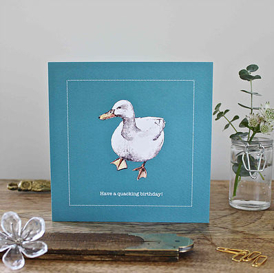 Duck,Quacking,Birthday,Card,buy duck birthday card online for him, buy male birthday cards with ducks online, buy quacking birthday duck cards online, buy duck birthday cards for her online, buy jemima puddle duck birthday cards online, buy white duck birthday cards
