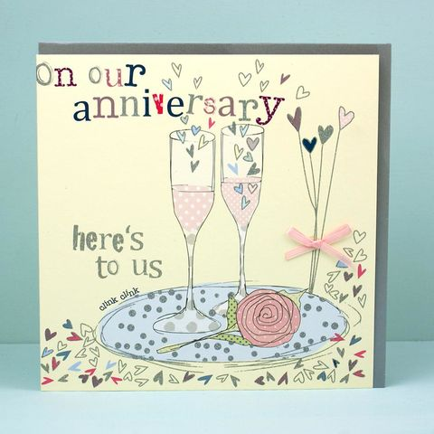 Here's,To,Us,On,Our,Anniversary,Card,buy on our wedding anniversary card online, buy anniversary card online, buy wedding anniversary cards online, buy cards for anniversaries online, happy anniversary card, buy wedding anniversary card online, buy champagne anniversary cards, buy wife anniv