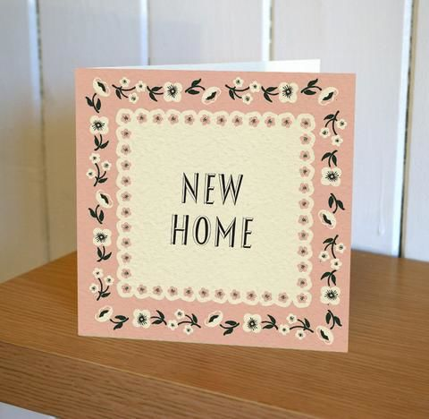 New,Home,Card,-,Floribunda,Mini,buy floral new home card online, buy cards for new homes online, buy congratulations on your new home card online
