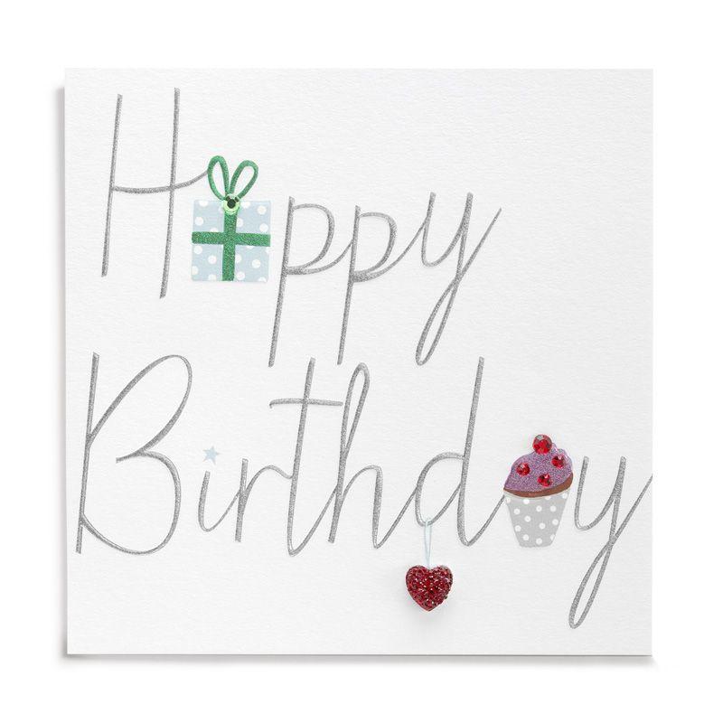 Handmade Happy Birthday Card Karenza Paperie