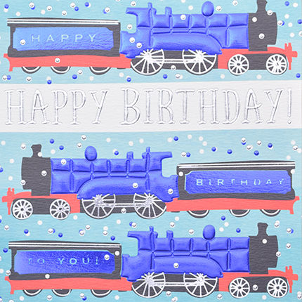 Hand finished train birthday card karenza paperie hand finished train birthday card product images of bookmarktalkfo Image collections