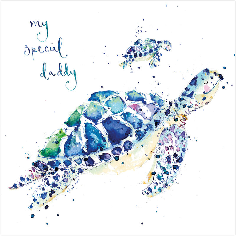 My Special Daddy Turtles Card Karenza Paperie