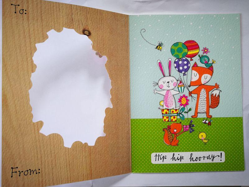 Woodland Creatures Birthday Card