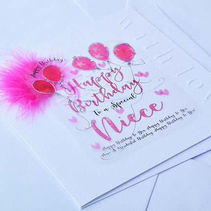 Handmade Niece Birthday Card