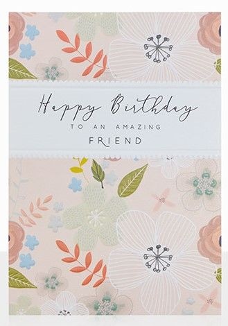 Buy Best Friend Birthday Cards Online Collection