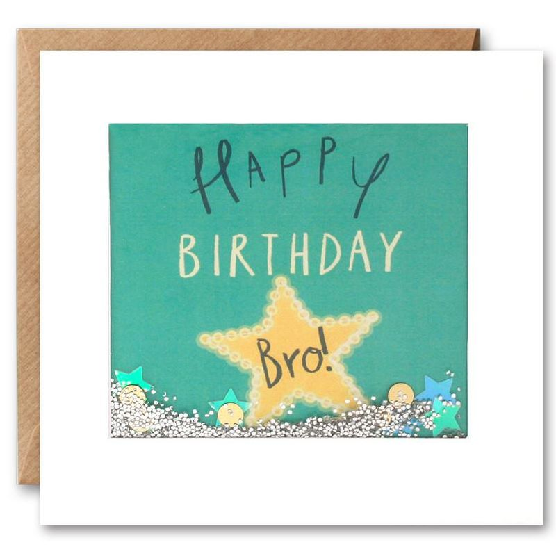 Shakies Bro Happy Birthday Card