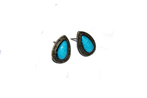 Turquoise,Stud,Earrings