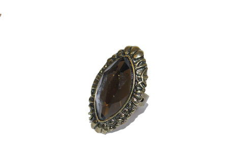 Bronze,Vintage,Stone,Ring