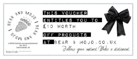 Bear,and,Mojo,GIFT,VOUCHER,10,bearandmojo, bear and mojo, gift voucher