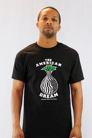 The,American,Dream,Shirt,black market, recession flag, american, the american dream, money bag, money