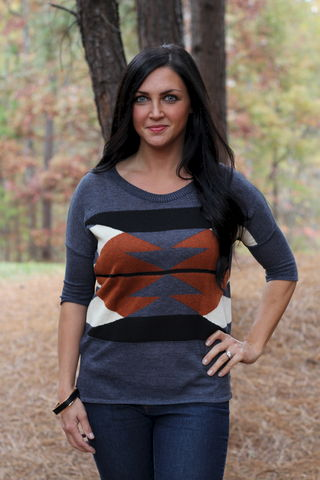 Aztec,Sweater