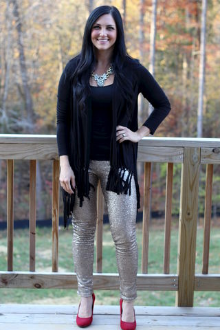 Gold,Sequin,Leggings,Sequin leggings, glitter, gold leggings