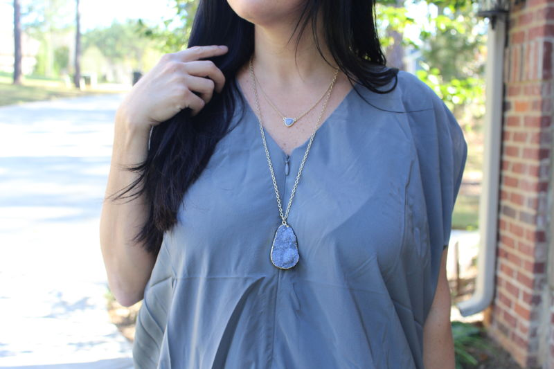 Double Layer Druzy Necklace - product images  of