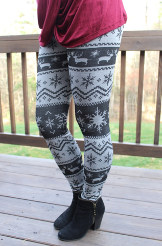 Reindeer,Leggings