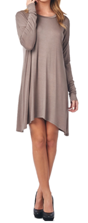 Mocha Piko Dress - product images