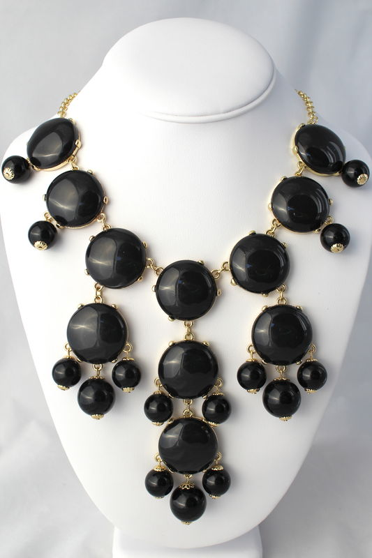 The Whitney Necklace - Black - product images