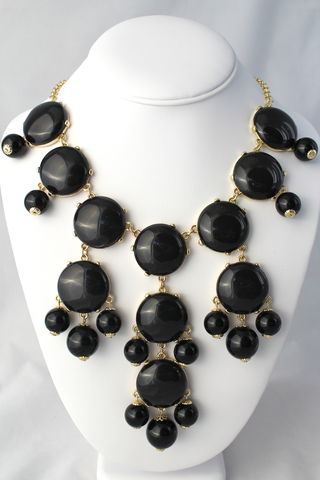 The,Whitney,Necklace,-,Black