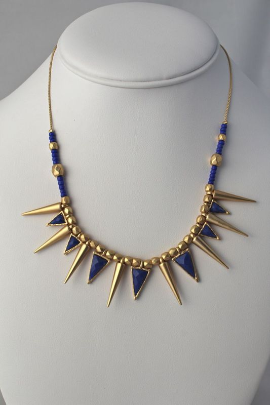 Spiked Tribal Necklace - product images