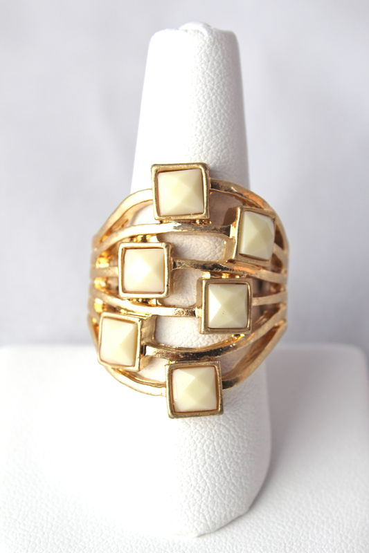 Square Jewel Ring    - product images