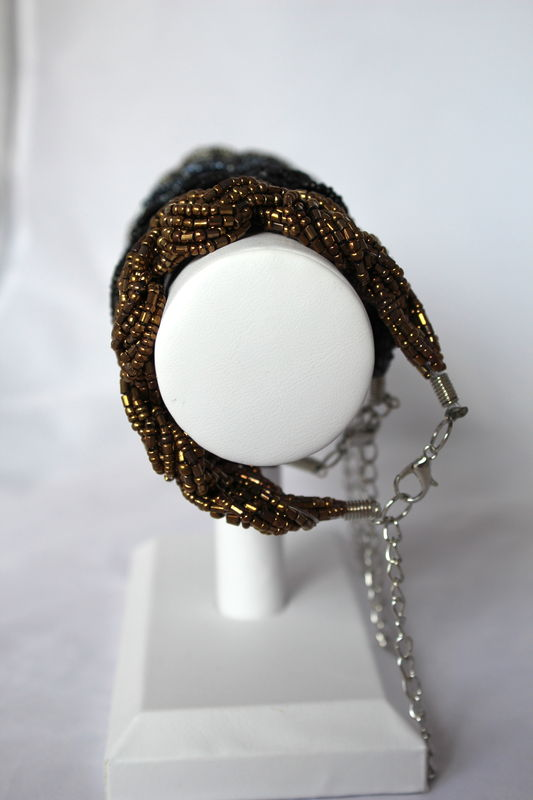 Braided Bead Bracelet (Was $14, now $8) - product images  of