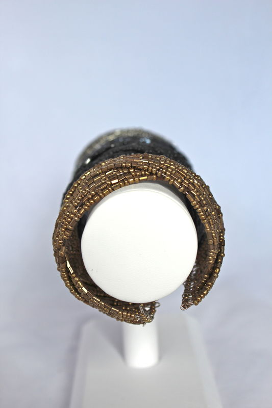 Twisted Bead Cuff - product images  of