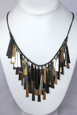 Bar,Fringe,Necklace