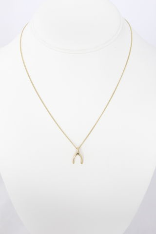 Wishbone,Pendant,Necklace
