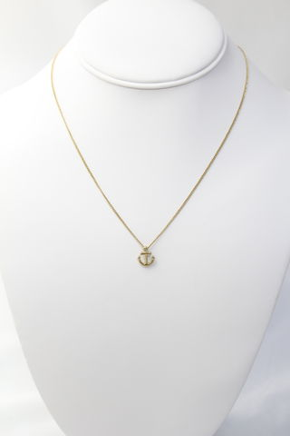 Anchor,Pendant,Necklace
