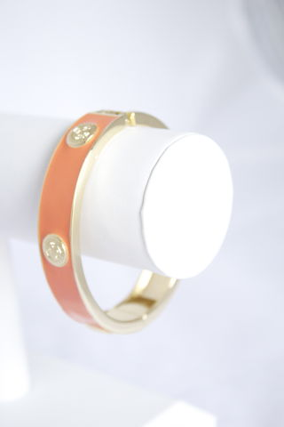 Coral,Emblem,Bangle