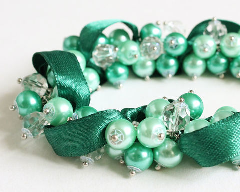 Turquoise,Mint,Green,Cluster,Bracelet,and,Earrings,Set,turquoise cluster bracelet, teal cluster bracelet, mint green cluster bracelet, turquoise bracelet, teal bracelet, mint bracelet, mint green bracelet, teal bridesmaid jewelry, mint green bridesmaid jewelry, turquoise bridesmaid jewelry, turquoise wedding