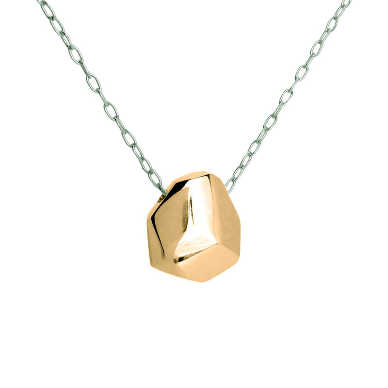 Asteroid Necklace - rose gold plate - product images  of