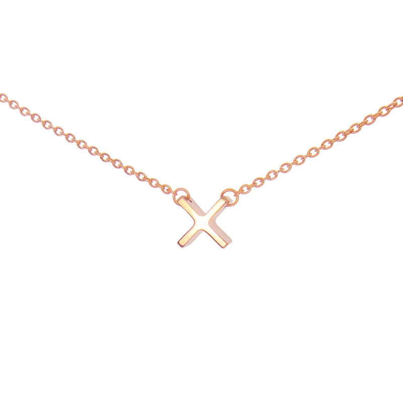 mini 'x' necklace - product images  of