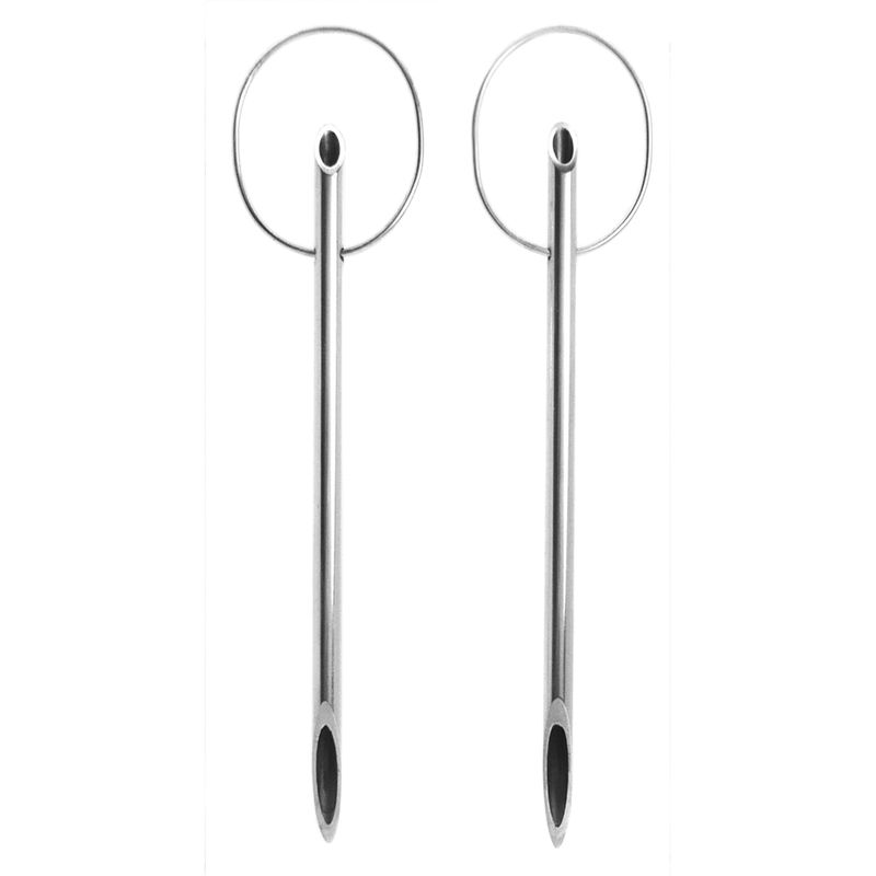 Trapeze Pipette Earrings - product images  of