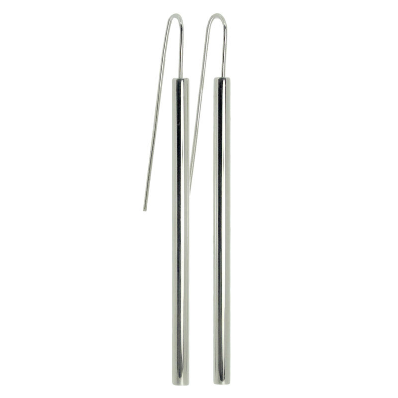 Straight Pipette earrings - product images