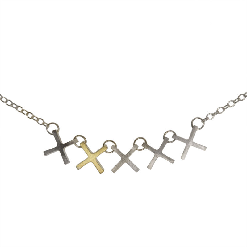 Five x's, one is gold - product images  of