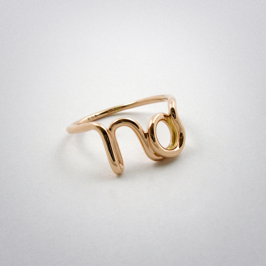 Gold ring Moquii