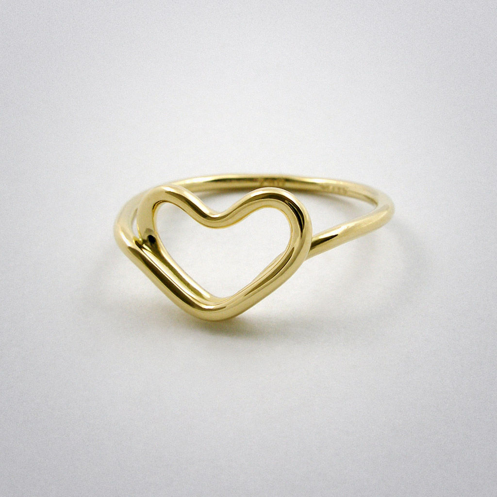 ring - cœur - Gold €510