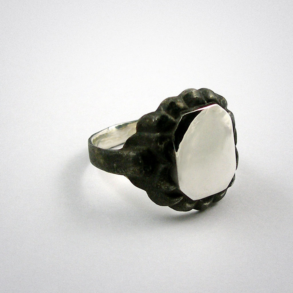 Mirror - ring - eckig - product images  of