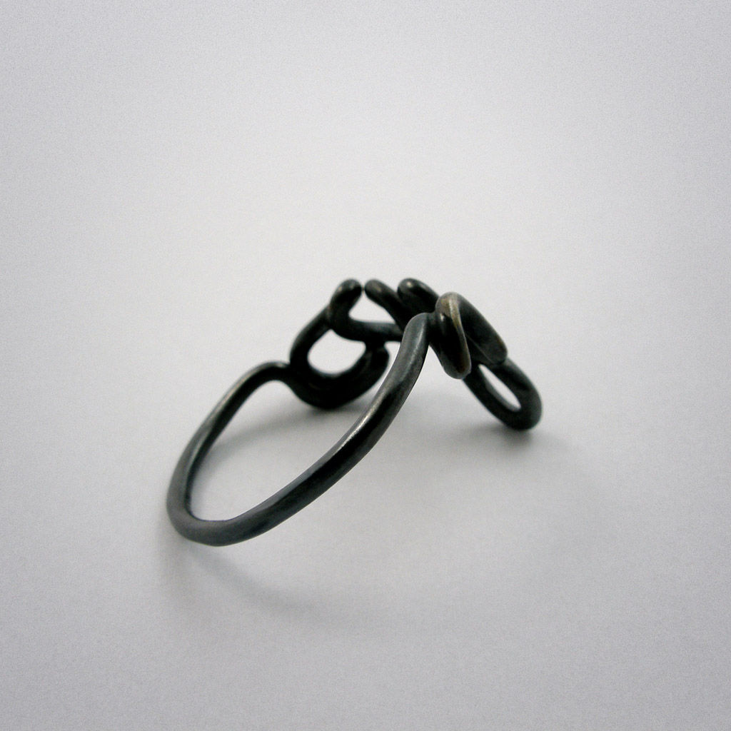 ring - Yes - Silber used look - product images  of